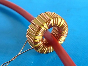 Current Transformer on magnetic sensor circuit